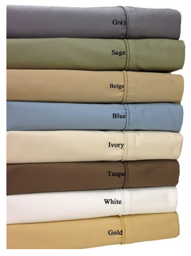 Ivory 650-Thread-Count Sheet Set