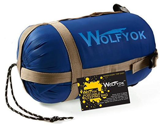 Wolfyok(TM) Portable Outdoor Traveling Sleeping Bag