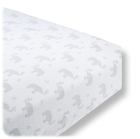 SwaddleDesigns Cotton Flannel Fitted Crib Sheet