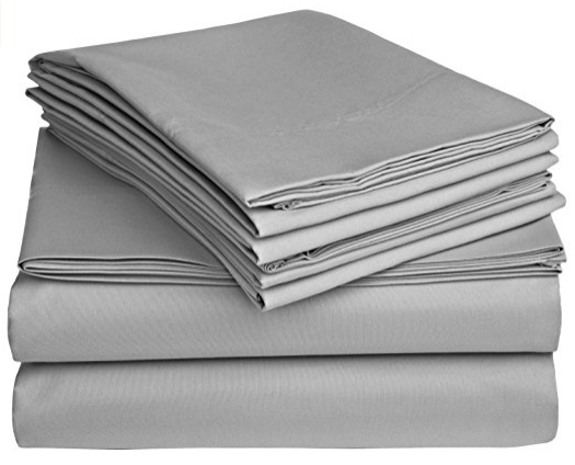 Super Deep Pocket Sheet Set 100% Cotton 600 Thread Count by sheetsnthings