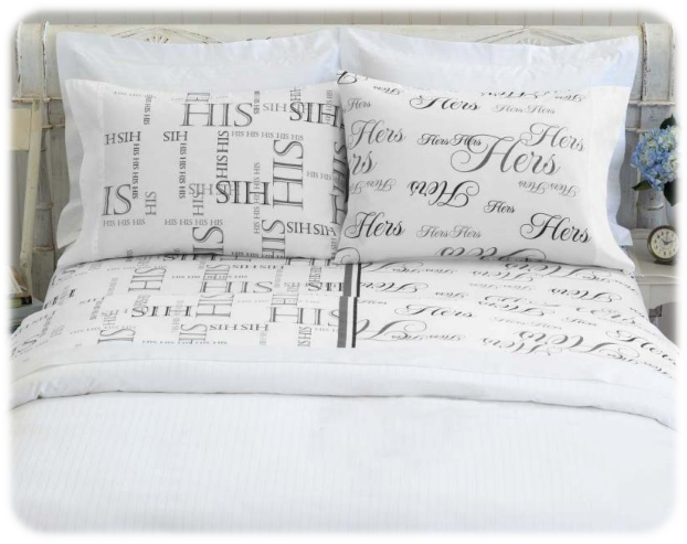 Bed Hog His & Hers Sheet Set