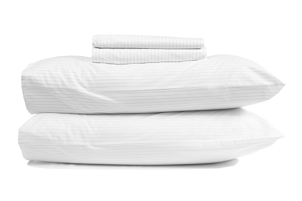 percale-egyptian-cotton-standard-sheet-set-pinstripe-white