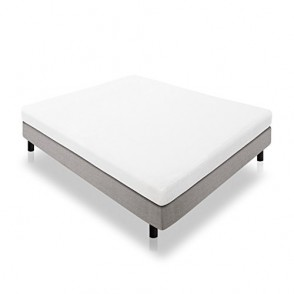 LUCID 5 Inch Gel Memory Foam Mattress - Dual-Layered - CertiPUR-US Certified - Firm Feel