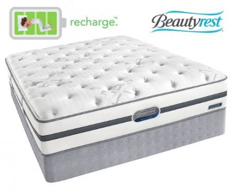 Simmons Beautyrest Recharge Luxury Firm Mattress Set