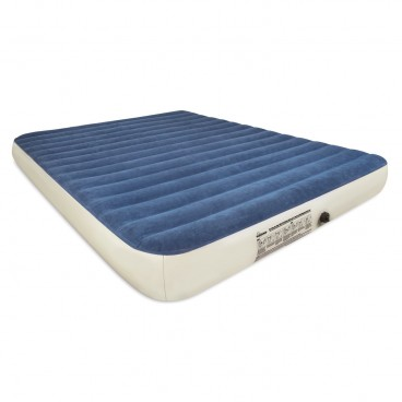 SoundAsleep Camping Series Air Mattress - Queen Size with Included Rechargeable Air Pump