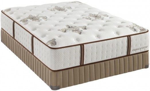 Stearns & Foster Estate Plush Mattress Set