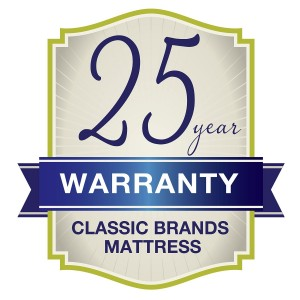 Classic Brands 11-Inch Eloquence Plush Gel Memory Foam Mattress