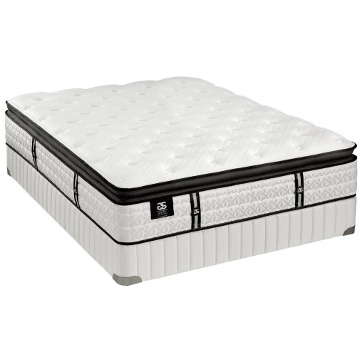 G.S. Stearns Firm Euro Pillow Top Mattress