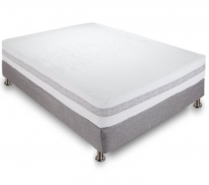 Classic Brands Engage Hybrid Cool Gel Memory Foam and Innerspring Mattress